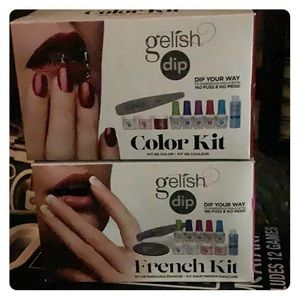 New 2 gelish dip kit